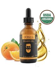 BEARD OIL Conditioner Softens Smooths Strengthens ORGANIC Natural Grooming NEW