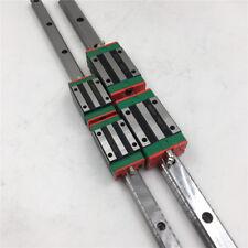 HIWIN 25mm Linear Guide Rail HGR25 L-2000mm&2pc HGH25CA Rail Block Carriage CNC