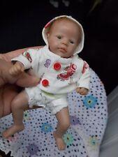 "$1 START BooBoo Baby AK Kitagawa Rare Realistic 8"" OOAK  Polymer Clay Baby Doll"