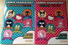 Nueva Sanrio caracteres Libros-Libro de chatarra y Libro De Actividades-Hello Kitty My Melody