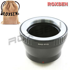 Roxsen Carl Zeiss Asahi Pentax M42 Screw Lens To Pentax Q P/Q Mount Adapter Q10
