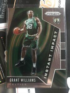 2019-20 Panini Prizm Grant Williams Instant Impact Insert RC Rookie Card