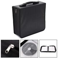 350 Disc Portable CD DVD Bluray Wallet Storage Holder Bag Case Binder Organizer