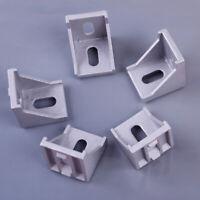 5xL-Form Aluminum Winkelverbinder 4040B Eckhalterung Winkel für Nut Aluprofil tp