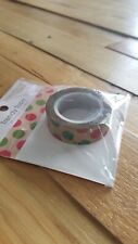 "Queen & Co Washi Trendy Tape! ""Polka Dot Christmas"" 10 yards each roll!"