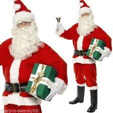 Herren-Kostüme & -Verkleidungen Weihnachtsmann in Größe XL