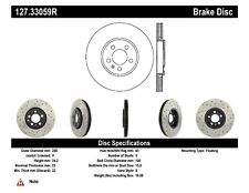 StopTech Front Right Disc Brake Rotor for 98-16 Volkswagen Golf / Audi A3 / Seat