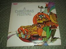 Vtg.Vinyl LP Record Album Set of Two - A Christmas Festival, Christmas Carols