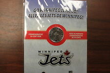 2011 2012 WINNIPEG JETS 50 CENT COMMEMORATIVE COIN