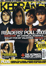 GREEN DAY / MY CHEMICAL ROMANCE / TRIVIUM	Kerrang	no.	1087	17	Dec	2005