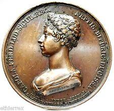 NAPOLI-DUE SICILIE (M.Carolina di Borbone) Medaglia 1820