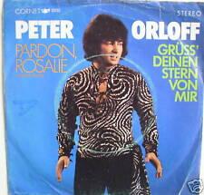 "7"" Cover version rare! peter Orloff: pardon rosalie vg"