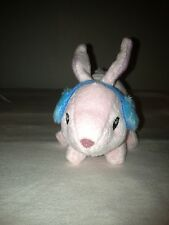 RABBIT BUNNY CHRISTMAS ORNAMENT ZYNGA FARMVILLE PLUSH STUFFED ANIMAL FARM, NEW!!