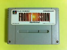 Front Mission Super Famicom SUFAMI SFC ( SNES ) JAPAN USED
