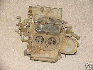 Holley Carb CARBURETOR Ford Chevy Dodge ?