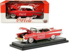 """1957 Chevrolet Bel Air Hardtop """"Coca-Cola"""" Red Limited Edition to 9,600 pieces W"""