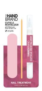 Cuticle Revitalizer Oil Pen With Nail Manicure Orange Stick Pusher