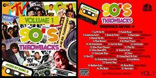 90'S THROWBACK'S EDITION VOL. 1 - 2 PAC-DR. DRE-AALIYAH-DASEFX-PMDAWN-RICK JAMES