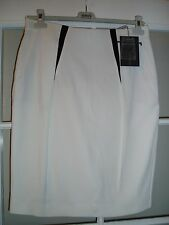 NEW Max Mara SPORTMAX skirt with navy decoration , size 12