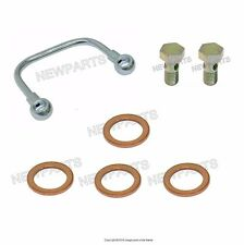 Mercedes W110 W123 By-Pass Banjo Pipe Kit Water Pump Housing To Cylinder Head