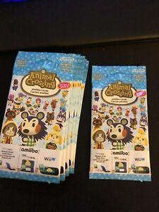Animal Crossing Amiibo - Series 3 - Card Pack NEW