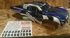 New TRAXXAS 1/10 Slash Blue & White & Black Prographix Style Body 2wd 4x4 58024
