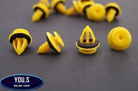 10 Universal Klips Türverkleidung Clips + Dichtung für Audi Ford Galaxy Seat VW