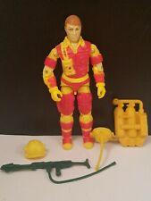 Vintage GI JOE 1984 Blowtorch V1 Figure 100% complete