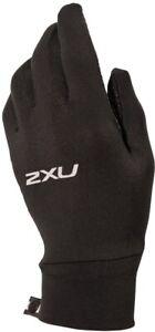 2XU Run Gloves - Black