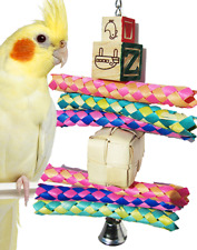 1939 Shred Box Bird Toy parrot cage toys cages shred cockatiel conure caique