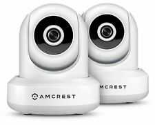 Amcrest 2-Pack IP2M-841EW ProHD 1080P (2.1MP) POE Security IP Camera  (White)