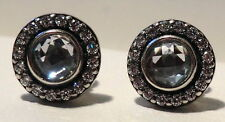 """pandora ALE sterling silver.925 """"Brilliant Legacy"""" earrings 290553CZ closeouts"""
