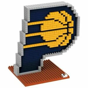 NBA Indiana Pacers 3D Logo Brick Puzzle