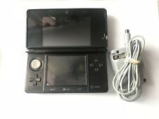Cosmo Black Nintendo 3DS Handheld Console - XL BATTERY Included