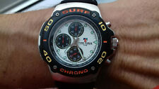 TIME FORCE VINTAGE COLLECTION SURF CHRONOGRAPH TF892402 NOS WATCH MONTRE 100M WR