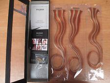 BALMAIN PARIS Doppio Volume Capelli Colore 40cm Estensione 3pcs Autunno Oro/Arancione