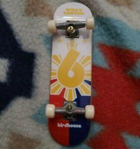Tech Deck 96mm Birdhouse - WILLY SANTOS - RARE Older Fingerboard Skateboard