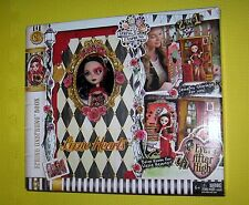 EVER AFTER HIGH Spring Unsprung BOOK dorm room LIZZIE HEARTS doll