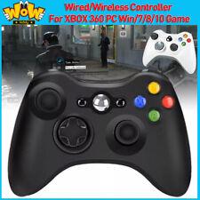 Alámbrico/Inalámbrico Bluetooth Controlador Gamepad Para XBOX 360 PC WIN/7/8/10 Joypad nos