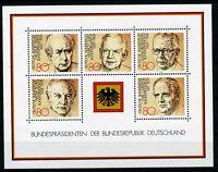 Bund Block 18 ** - Bundespräsidenten
