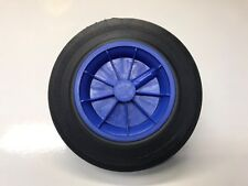 REPLACEMENT WHEELIE BIN WHEEL / WHEELIE BIN WHEELS 200/50-100 - BLUE