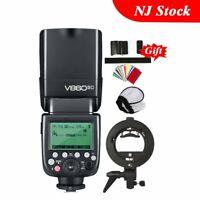 Godox V860II-C TTL Camera Flash Speedlite Bowens Bracket For Canon 800D 600D 60D