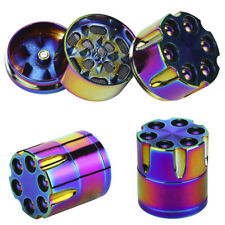 Tobacco Herb Spice Grinder 3 Piece Herbal Alloy Smoke Metal Chromium Crusher Hot