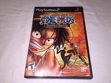 One Piece: Grand Adventure (Playstation PS2) Black Label Complete Vr Nice!