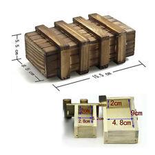 Puzzle Box Japanese Wooden Yosegi Secret Steps Hakone Japan Bako Trick Brain New
