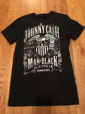 Johnny Cash Unisex Shirt Sm Man In Black Nashville, Tennessee, Outlaw Music.New