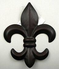 DealsJungle X-small Fleur De Lis Wall Plaque For Home and Garden Decoration - Vi