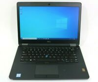 Dell Latitude e7470 256GB M.2 SATA Core i5 6th Gen 2.4GHz 8/16GB DDR4 Win10 Pro