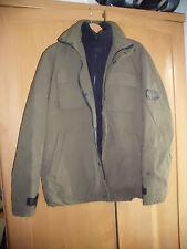 Schöne grüne Herren Winter/Outdoor-Jacke von ESPRIT MEN, Gr. M, gut + günstig!