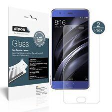 2x Xiaomi Mi6 Schutzfolie matt - Panzerfolie 9H Folie dipos Glass Kunststoffglas